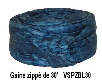 Gaine zippée pour boyau de 30 pi